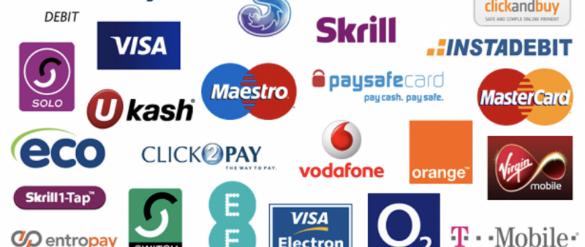 Top Online Casino Payment Methods in 2021